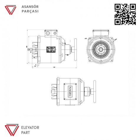 Nagel Kayra-Asansör Motoru