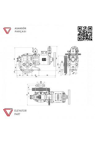 Nagel Kayra 9,2-Asansör Motoru