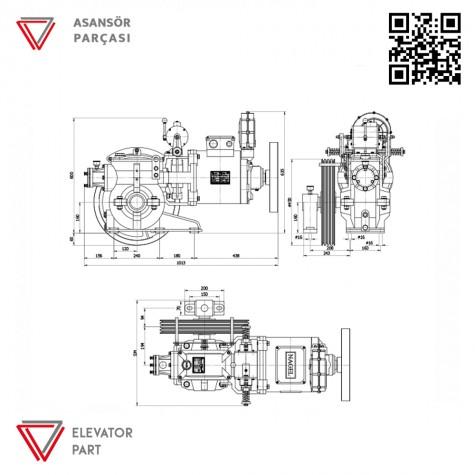 Nagel Kayra 7,5-Asansör Motoru