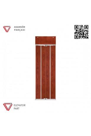 Door Life Ahşap Boyalı Kramer 95x90 Asansör Kapısı