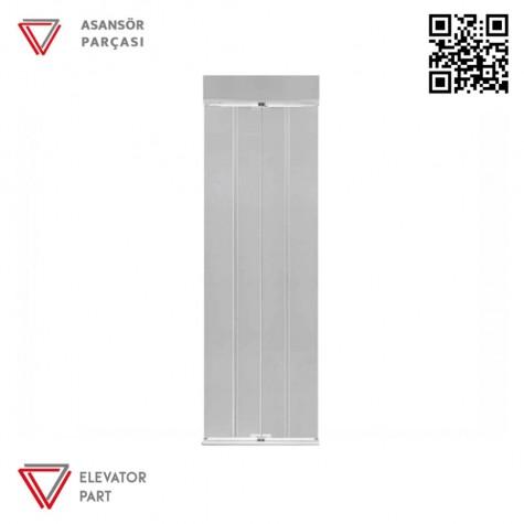 Door Life Satine Paslanmaz Kramer 95x90 Asansör Kapısı