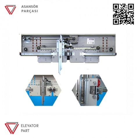 Emay 1100lük Merkezi 4 Panel Kabin Kapısı Mekanizması