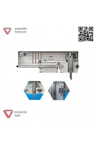Emay 800lük Teleskopik 2 Panel Kabin Kapısı Mekanizması