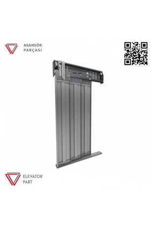 Emay 1000lik Merkezi 2 Panel Kabin Kapısı