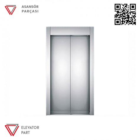 Emay 1100lük Merkezi 2 Panel Kat Kapısı