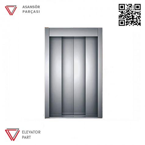 Emay 1200lük Merkezi 4 Panel Kat Kapısı