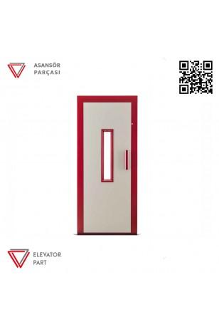Door Life A2 Çift Renk 90lık Asansör Kapısı