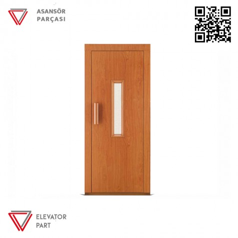 Door Life A5 Laminant Kaplama 90lık Asansör Kapısı