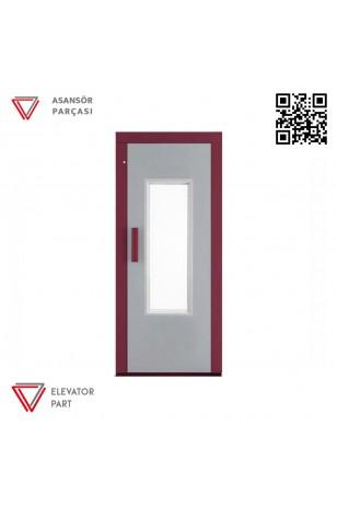 Door Life C1 Tek Renk 90lık Asansör Kapısı