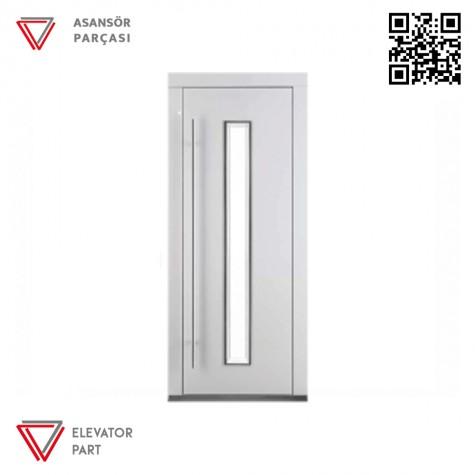 Door Life E1 Tek Renk 90lık Asansör Kapısı