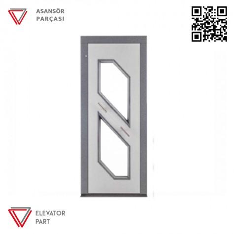 Door Life O3 Dövme Boya 90lık Asansör Kapısı