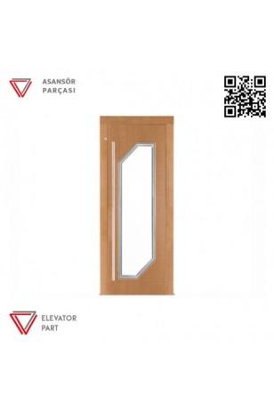 Door Life P5 Laminant Kaplama 90lık Asansör Kapısı