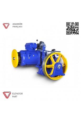 Akis Z 102 Asansör Motoru 1000 Kg
