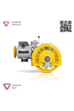 Eker Smart 125 4 Kw Smc40080 Çift Hızlı Asansör Motoru