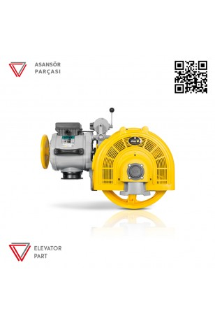Eker Smart 125 5,5 Kw Smc55080 Çift Hızlı Asansör Motoru