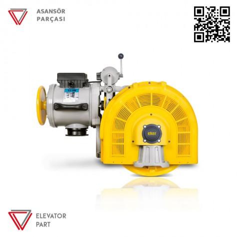 Eker Strong 5,5 Kw Stc55080 Çift Hızlı Asansör Motoru