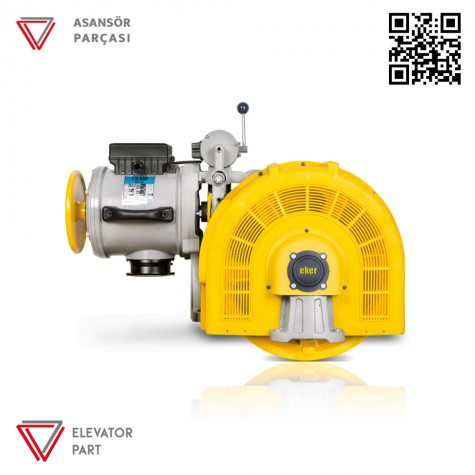Eker Strong 7,5 Kw Stc75100 Çift Hızlı Asansör Motoru