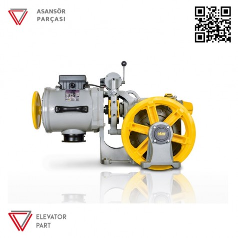 Eker Strong 9 Kw Stc90080 Çift Hızlı Asansör Motoru