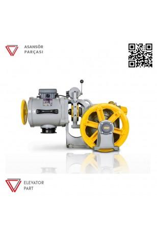 Eker Strong Plus 9 Kw Stpc90100 1080 Kg Çift Hızlı Asansör Motoru