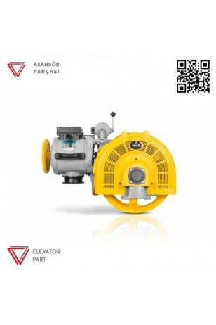 Eker Smart 4 kw Sm40100 Vvvf Asansör Motoru
