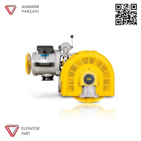 Eker Strong 7,5 Kw ST75160 Vvvf Asansör Motoru