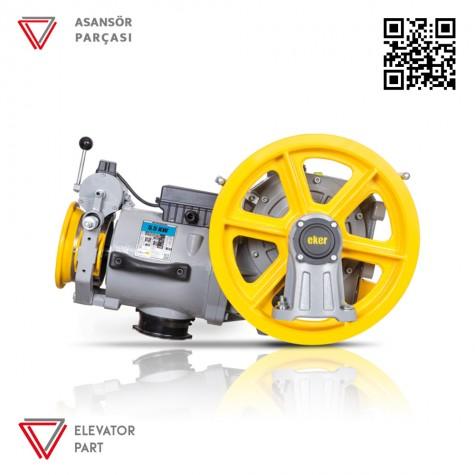 Eker Strong Lite 5,5 Kw Stl55100 Vvvf Asansör Motoru