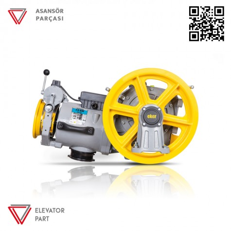 Eker Strong Lite 7,5 Kw Stl75120 Vvvf Asansör Motoru