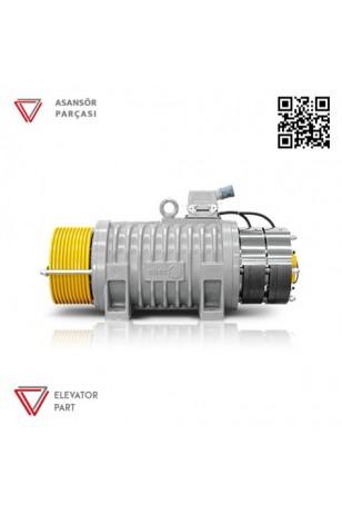 Eker Quite Serisi Qs4 Qs43280160 800 Kg Dişlisiz Asansör Motoru