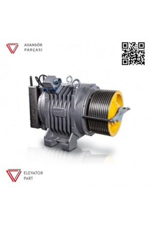 Eker Quite Serisi Qs5 Qs540125160 1250 Kg Dişlisiz Asansör Motoru