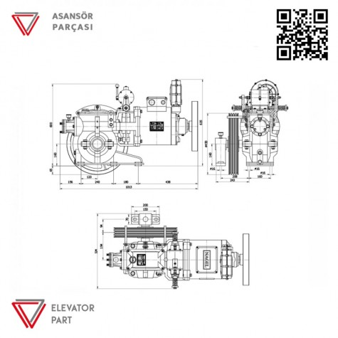 Nagel Özgen 2-Asansör Motoru