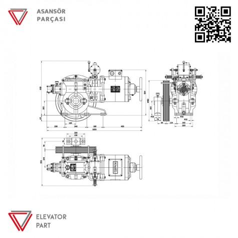 Nagel Özgen-4.2-Asansör Motoru