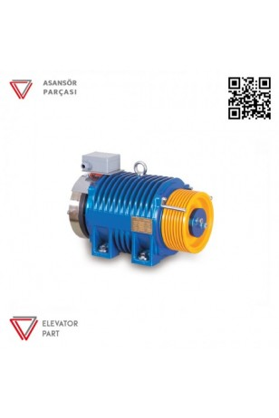 Akar Dişlisiz MRL-3000 KG-Asansör Motoru