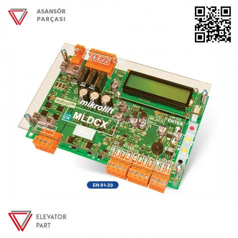 Mikrolift Mldcx Tam Otomatik Kapı Kontrol Kartı