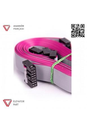 Hedefsan 14P Flat Kablo
