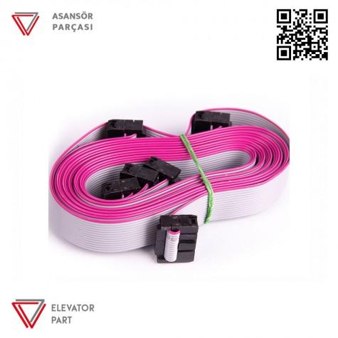 Hedefsan 16P Flat Kablo